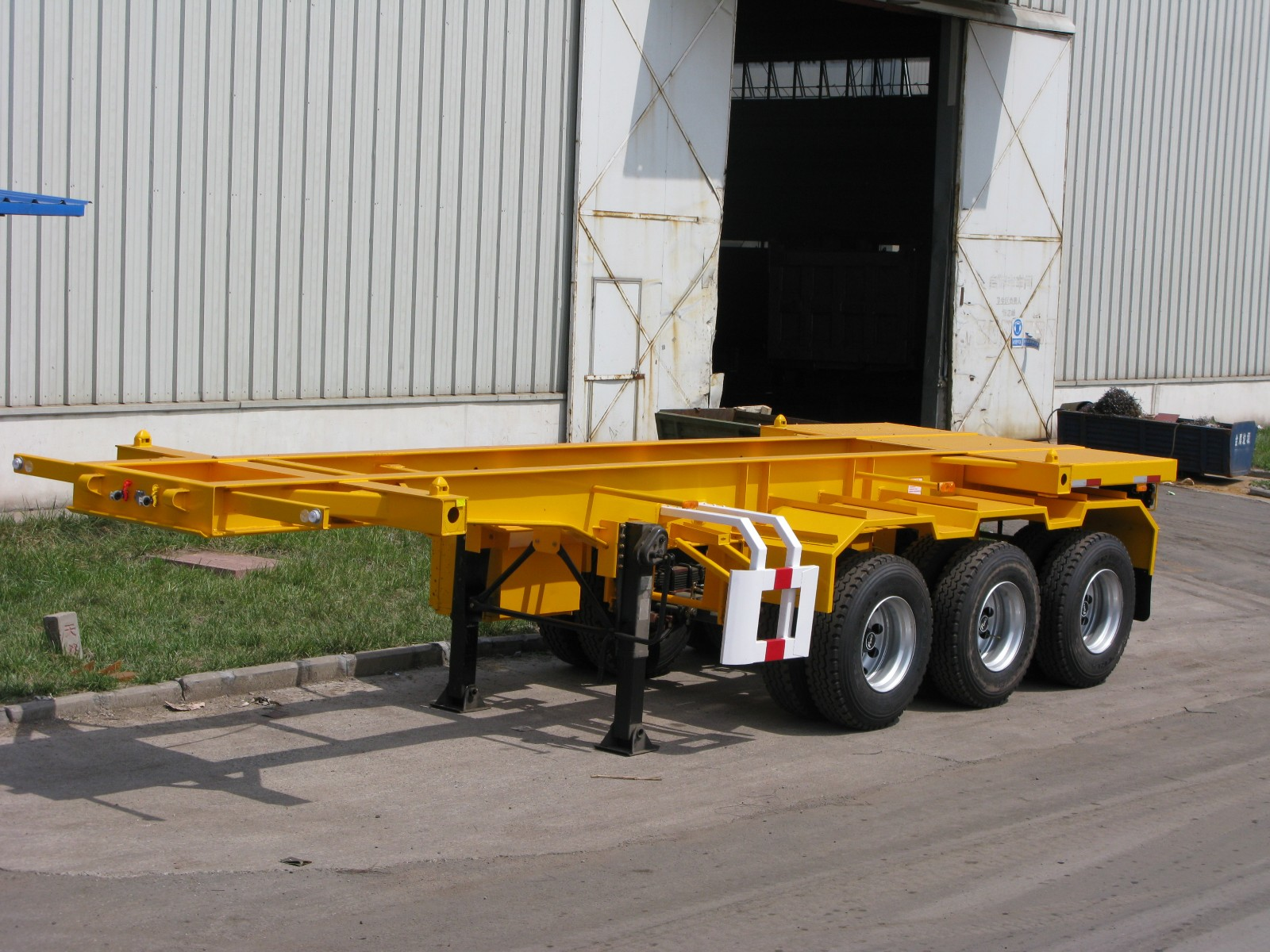 20 ft container trailer, container trailer , 20 ft shipping container trailer | CIMC Master