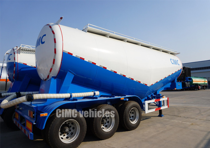 30 ton 40 tons 60 tons cement bulk carrier tank trailer