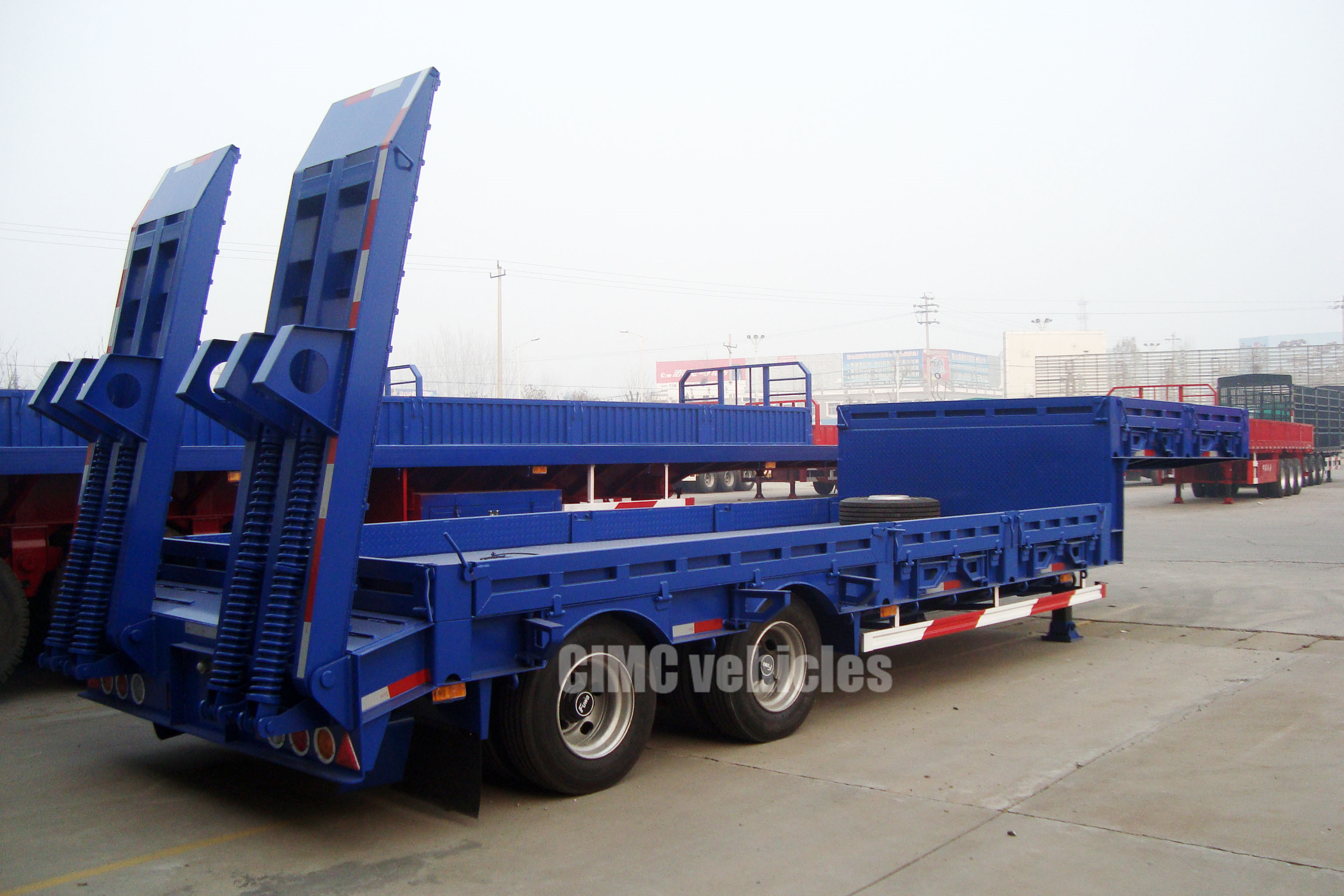 30 ton low loader trailers for sale