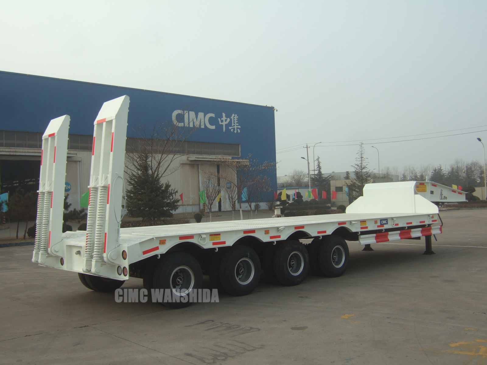 80 ton low loader trailer