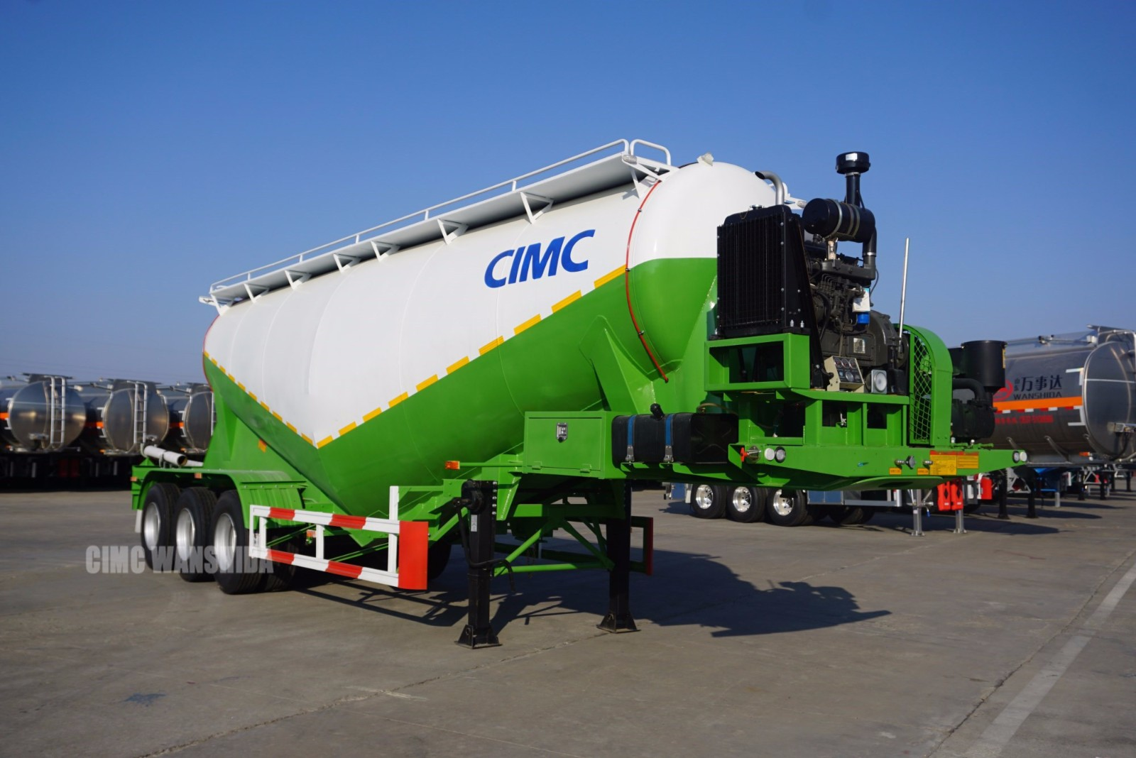 40 ton cement powder tankers for sale