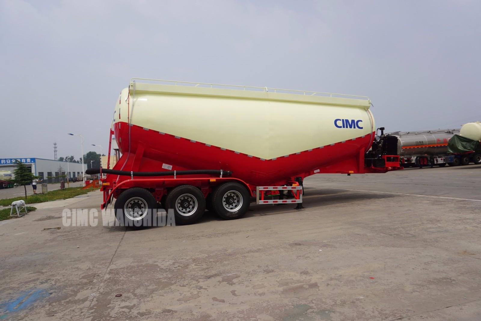 38 m3 bulk cement trailer