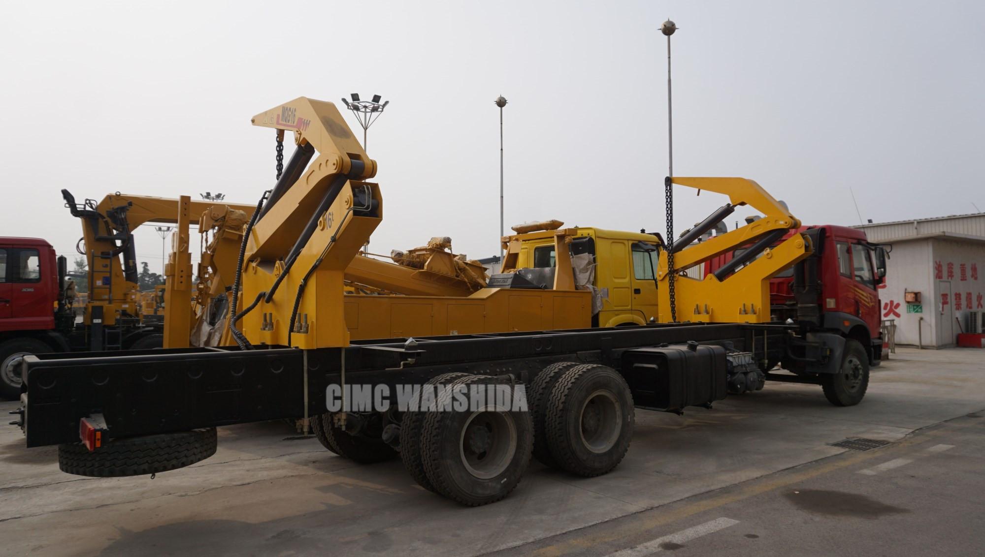 20ft 40ft container side loader