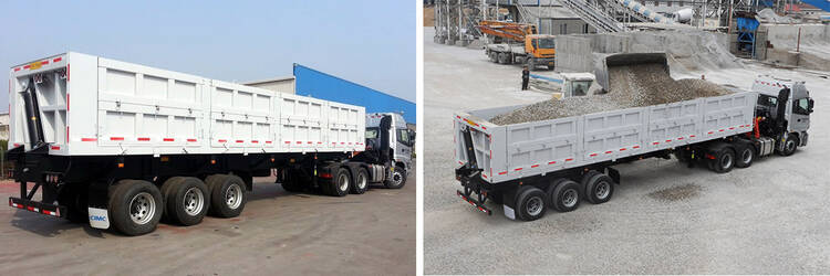 How to Choose the Right Semi Tipper Trailer?-CIMC dump truck for sale