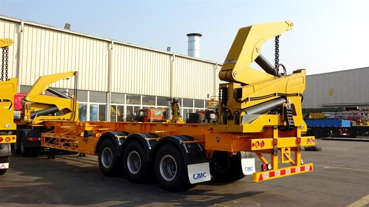 Container Side Loader Trailer Price