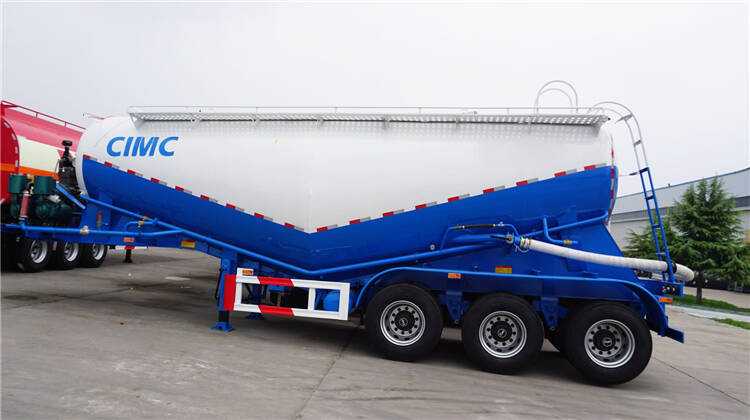 50 tons silo cement bulker semi trailers