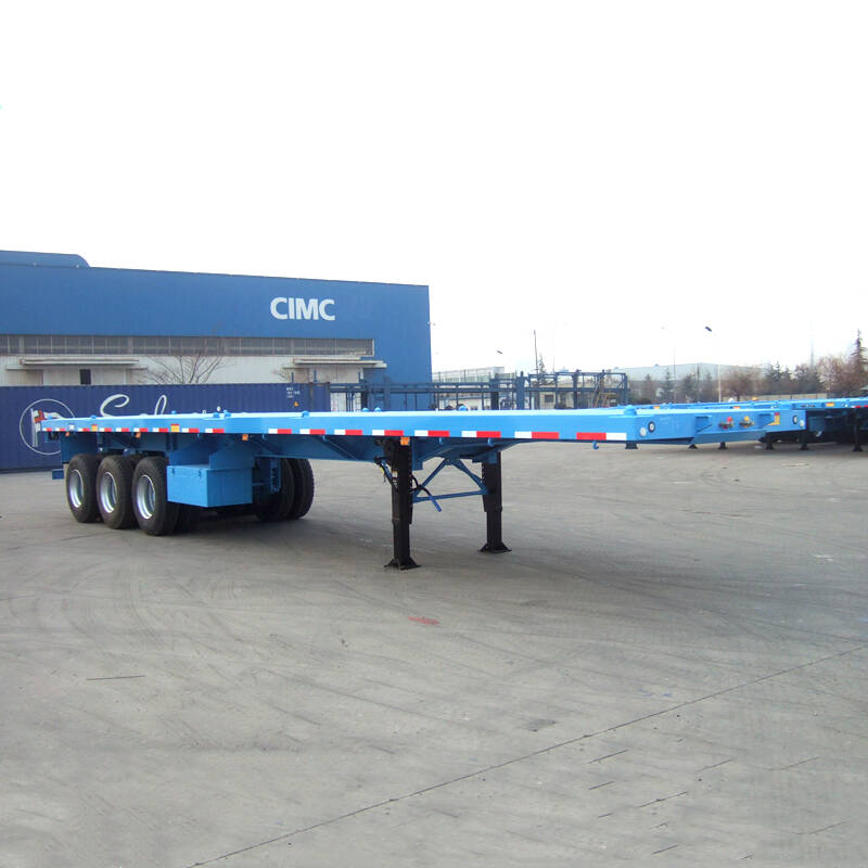 CIMC 40ft Flatbed Trailer for Sale