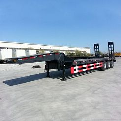 low bed trailer 100 ton