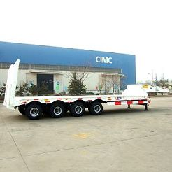 80-ton low bed semi trailer