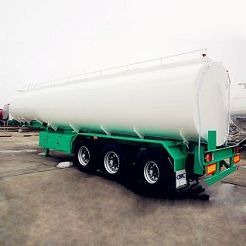 crude palm oil tanker trailers for sal