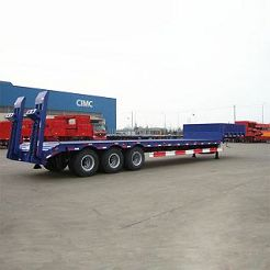 low bed trailer , low bed trailer for sale , 40 ton low bed trailer